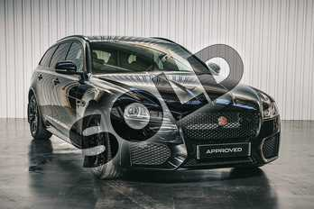 Jaguar XF Special Editions 2.0d (180) Chequered Flag 4dr Auto in Santorini Black at Listers Jaguar Solihull