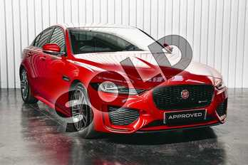 Jaguar XE Diesel 2.0d R-Dynamic S 4dr Auto in Firenze Red at Listers Jaguar Solihull
