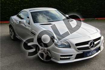 Mercedes-Benz SLK Roadster SLK 200 BlueEFFICIENCY AMG Sport 2dr Tip Auto in Metallic - Iridium silver at Listers U Boston