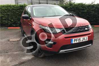 Land Rover Discovery Sport Diesel SW 2.2 SD4 HSE Luxury 5dr Auto in Metallic - Firenze red at Listers U Boston