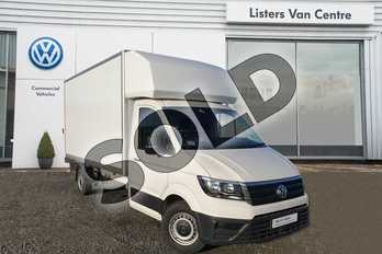 Volkswagen Crafter 2.0 TDI 140PS Startline Chassis cab in Candy White at Listers Volkswagen Van Centre Coventry