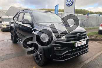 Volkswagen Amarok D/Cab Pick Up Highline 3.0 V6 TDI 258 BMT 4M Auto in Deep black at Listers Volkswagen Van Centre Worcestershire