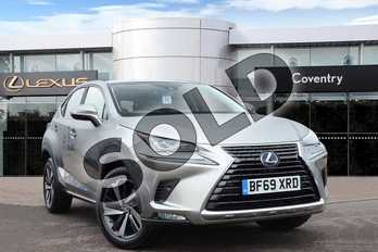 Lexus NX 300h 2.5 Takumi 5dr CVT (Pan roof) in Sonic Titanium at Lexus Coventry
