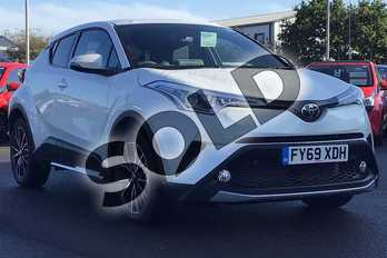 Toyota C-HR 1.2T Excel 5dr (Leather) in White at Listers Toyota Lincoln