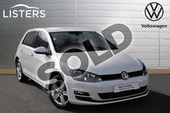 Volkswagen Golf 1.4 TSI Match 5dr in Pure white at Listers Volkswagen Evesham