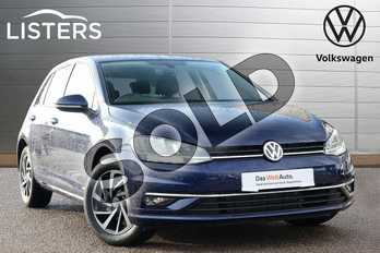 Volkswagen Golf 1.5 TSI EVO 150 Match 5dr in Atlantic Blue at Listers Volkswagen Loughborough