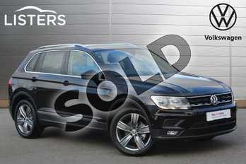 Volkswagen Tiguan 1.5 TSI EVO 130 Match 5dr in Deep Black at Listers Volkswagen Nuneaton
