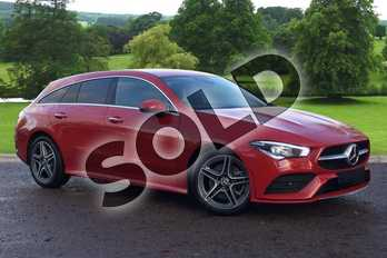 Mercedes-Benz CLA Class CLA 200 d Shooting Brake in Jupiter Red at Mercedes-Benz of Grimsby