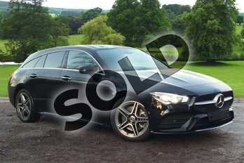 Mercedes-Benz CLA Class CLA 220 AMG Line Premium 5dr Tip Auto in Cosmos Black Metallic at Mercedes-Benz of Grimsby