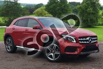 Mercedes-Benz GLA Class GLA 180 AMG Line Edition Plus 5dr Auto in Jupiter Red at Mercedes-Benz of Grimsby