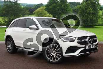 Mercedes-Benz GLC GLC 220d 4Matic AMG Line Premium 5dr 9G-Tronic in Polar White at Mercedes-Benz of Grimsby