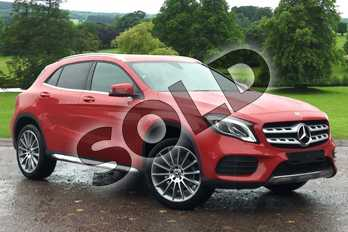 Mercedes-Benz GLA Class GLA 180 AMG Line Edition 5dr Auto in Jupiter Red at Mercedes-Benz of Grimsby