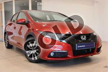 Honda Civic Diesel 1.6 i-DTEC SE Plus 5dr in Red at Listers Honda Northampton
