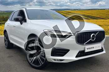 Volvo XC60 2.0 T5 (250) R DESIGN Pro 5dr AWD Geartronic in Crystal White at Listers Volvo Worcester