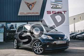 SEAT Mii 1.0 75 FR Line 5dr in Black at Listers SEAT Coventry