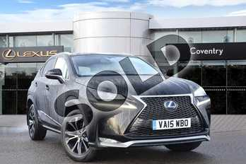Lexus NX 300h 2.5 F-Sport 5dr CVT in Celestial Black at Lexus Coventry