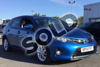 Toyota Auris 1.6 V-Matic Icon 5dr in Island Blue at Listers Toyota Lincoln