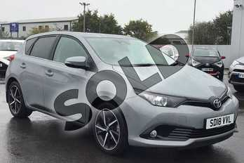 Toyota Auris 1.2T Design TSS 5dr (Nav) in Grey at Listers Toyota Lincoln