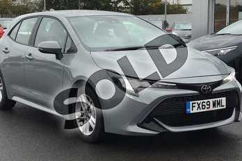 Toyota Corolla 1.2T VVT-i Icon Tech 5dr in Grey at Listers Toyota Lincoln