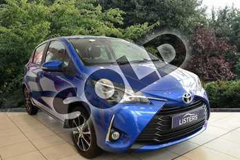 Toyota Yaris Icon Tech in Blue at Listers Toyota Nuneaton