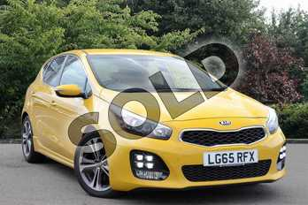 KIA Ceed 1.0T GDi ISG GT-Line 5dr in Yellow at Listers Toyota Nuneaton