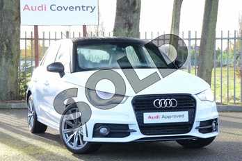 Audi A1 Special Editions 1.6 TDI S Line Style Edition 5dr in Glacier White, metallic at Coventry Audi
