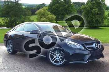 Mercedes-Benz E Class Diesel E220 BlueTEC AMG Line Premium 2dr 7G-Tronic in Obsidian Black metallic at Mercedes-Benz of Grimsby