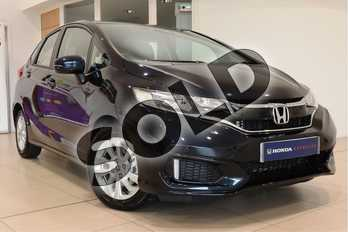 Honda Jazz 1.3 i-VTEC SE Navi 5dr in Midnight Blue at Listers Honda Northampton