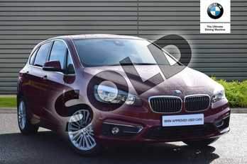 BMW 2 Series Active Tourer 218i Luxury Active Tourer in Flamenco Red at Listers Boston (BMW)