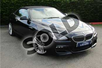 BMW 6 Series Diesel Convertible 640d M Sport 2dr Auto in Metallic - Carbon black at Listers U Boston