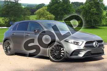 Mercedes-Benz A Class AMG A35 4Matic Premium Plus 5dr Auto in designo Mountain Grey at Mercedes-Benz of Grimsby
