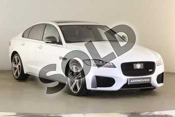Jaguar XF 3.0 V6 Diesel (300PS) 300 SPORT in Yulong White at Listers Jaguar Droitwich