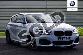 BMW 1 Series 118d M Sport 3-door in Alpine White at Listers Boston (BMW)