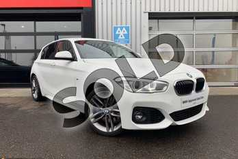 BMW 1 Series 118d M Sport 5-Door in Alpine White at Listers King's Lynn (BMW)