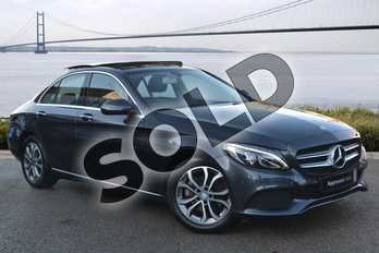 Mercedes-Benz C Class C200 Sport Premium 4dr Auto in Tenorite Grey Metallic at Mercedes-Benz of Hull