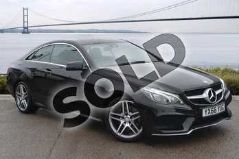 Mercedes-Benz E Class Diesel E220 BlueTEC AMG Line 2dr 7G-Tronic in Obsidian Black metallic at Mercedes-Benz of Hull