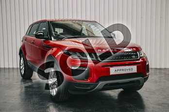 Range Rover Evoque Diesel 2.0 eD4 SE Tech 5dr 2WD in Firenze Red at Listers Land Rover Solihull