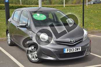 Toyota Yaris 1.33 VVT-i TR 5dr in Decuma Grey at Listers Toyota Lincoln