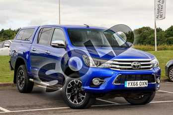 Toyota Hilux Diesel Invincible X D/Cab Pick Up 2.4 D-4D in Blue at Listers Toyota Lincoln