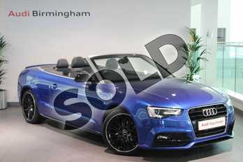 Audi A5 Special Editions 1.8T FSI S Line Special Ed Plus 2dr Multitronic in Sepang Blue, pearl effect at Birmingham Audi