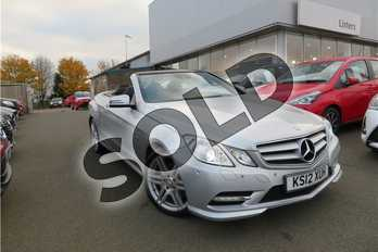 Mercedes-Benz E Class Diesel E350 CDI BlueEFFICIENCY (265) Sport 2dr Tip Auto in Metallic - Palladium silver at Listers Toyota Grantham