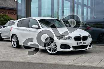 BMW 1 Series 116d M Sport 5-Door in Alpine White at Listers Boston (BMW)