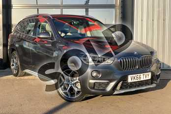 BMW X1 Diesel xDrive 20d xLine 5dr Step Auto in Mineral Grey at Listers Boston (BMW)