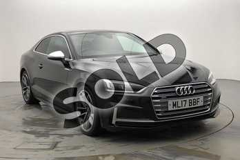 Audi A5 S5 Quattro 2dr Tiptronic in Brilliant Black at Birmingham Audi