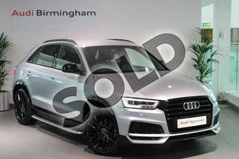 Audi Q3 Special Editions 2.0 TDI Black Edition 5dr in Floret Silver Metallic at Birmingham Audi