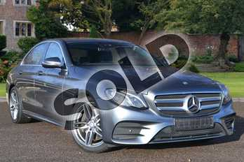 Mercedes-Benz E Class Diesel E350d AMG Line 4dr 9G-Tronic in Selenite Grey metallic at Mercedes-Benz of Hull