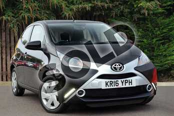 Toyota AYGO 1.0 VVT-i X-Play 5dr in Black at Listers Toyota Coventry