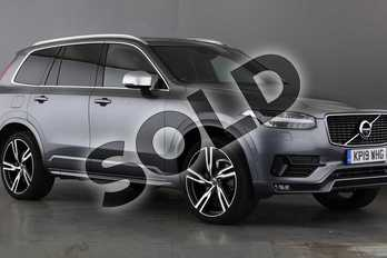Volvo XC90 Diesel 2.0 D5 PowerPulse R DESIGN Pro 5dr AWD Geartronic in Osmium Grey at Listers Volvo Worcester
