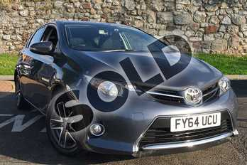 Toyota Auris Diesel 1.4 D-4D Icon+ 5dr in Blue at Listers Toyota Stratford-upon-Avon