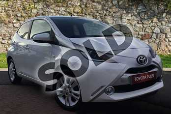 Toyota AYGO Special Editions 1.0 VVT-i X-Pure 5dr in White Flash at Listers Toyota Grantham